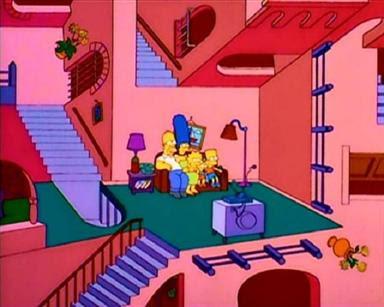 Escher y Los Simpsons