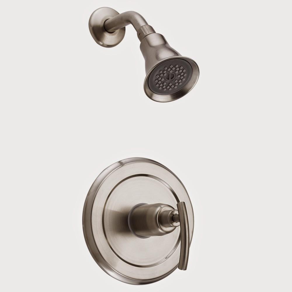 Fontaine Vincennes Brushed Nickel Shower Faucet