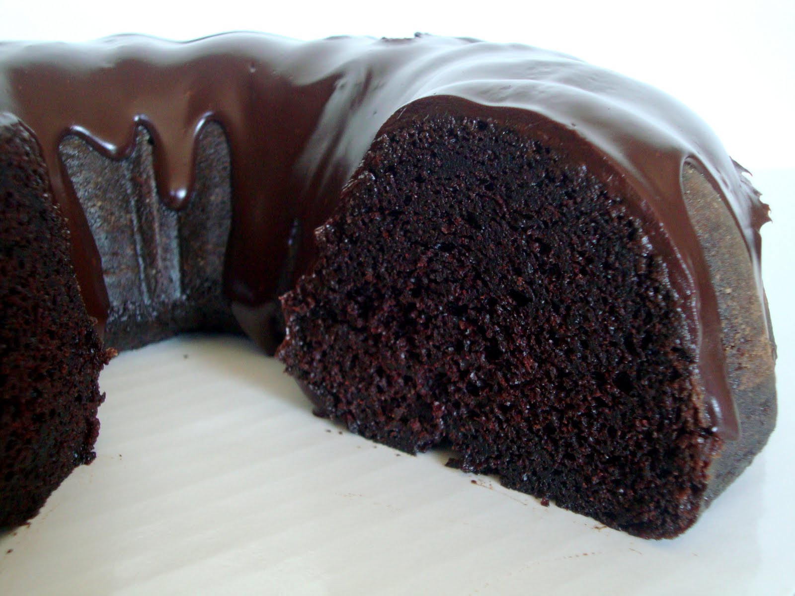 Chocolate Cakes With Ganache Glaze Recipes — Dishmaps