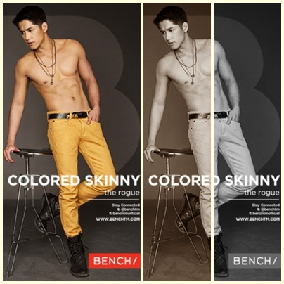 Aljur Abrenica for Bench Back to School (Denim) campaign