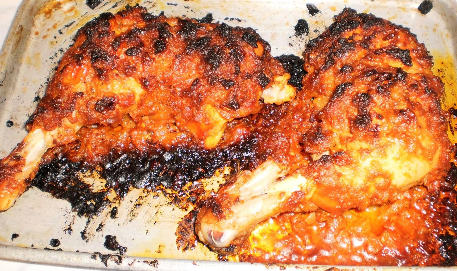 Chicken Raan/Oven Baked Chicken Recipe ~ Easyfud
