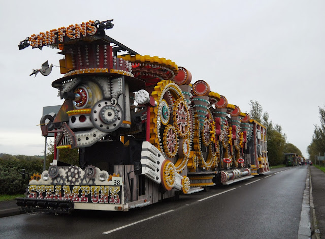 Burnham on Sea Carnival Float Line Up