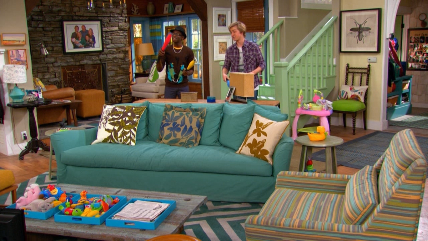 Good Luck Charlie House Interior The