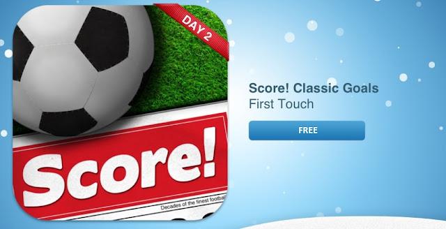 Score! Classic Goals Android app