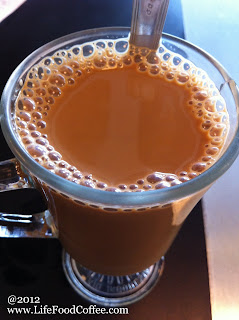 ying yang (coffee and tea)