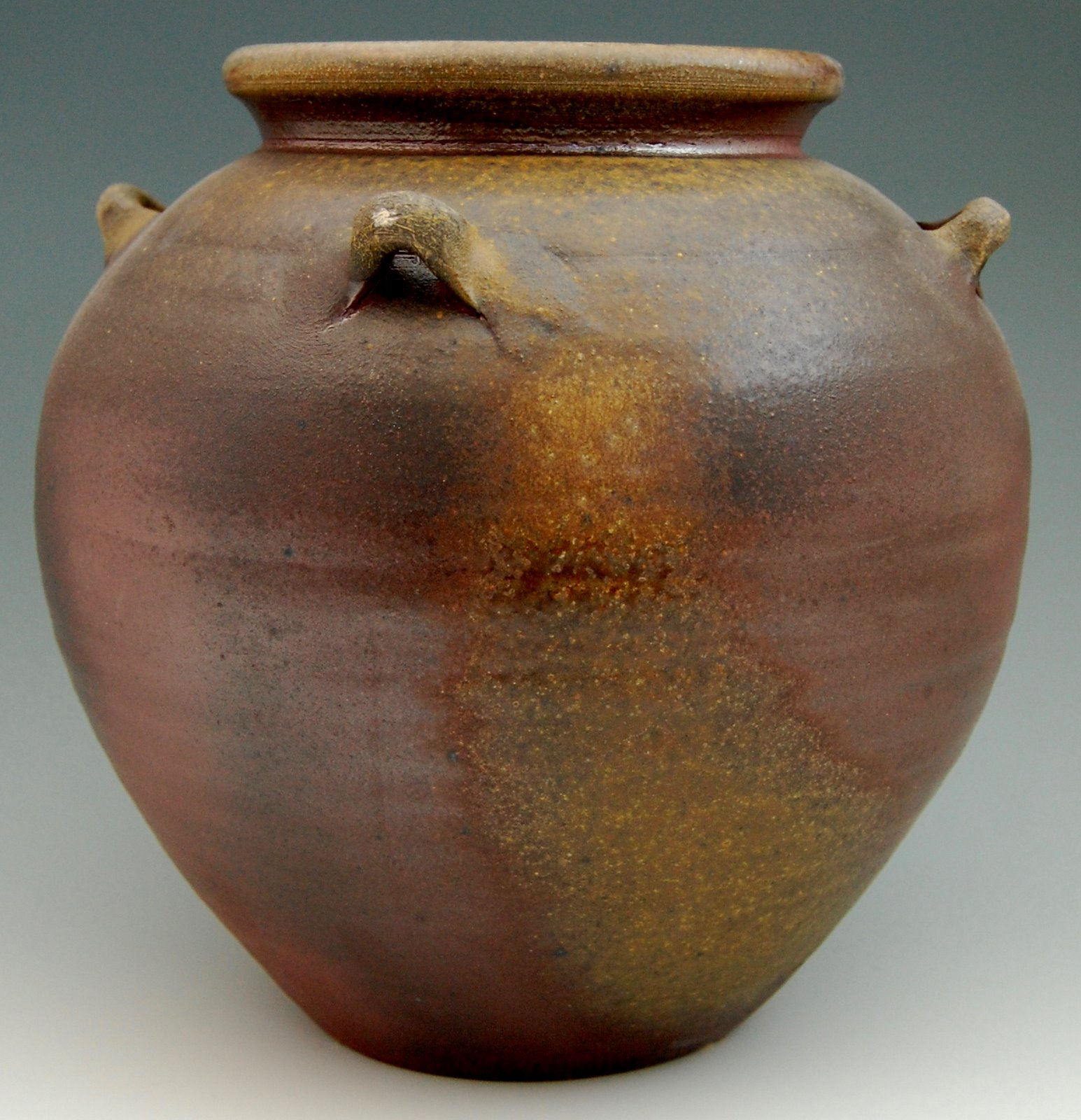Fire Made Of Clay : Wood fired pottery two tsubo and a chawan made from mid