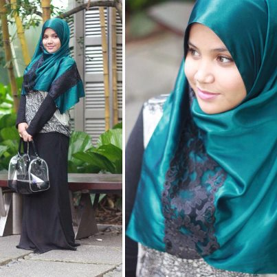 the selection of the fashionable hijab scarf styles of the new season