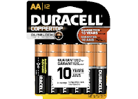 Ebay : Duracell AAA & AA Batteries Pack of 6 at Extra Rs.100 off, worth Rs. 250 at Rs. 150 only including Shipping charges,