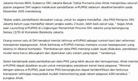 gambar berita e-PUPNS 2015
