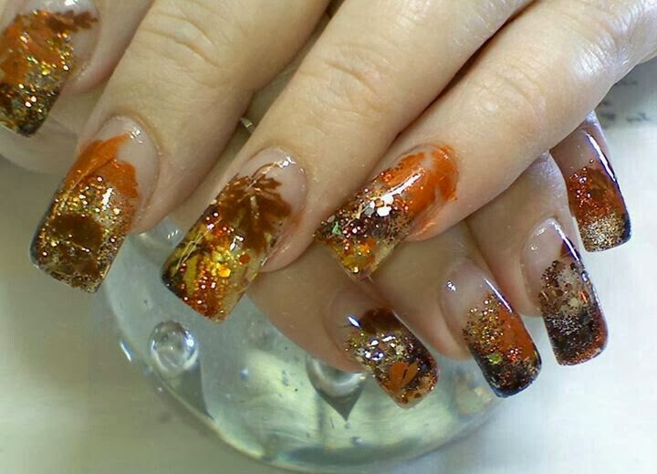 New Hairstyle 2014: Fall 2013 Nail Art Designs