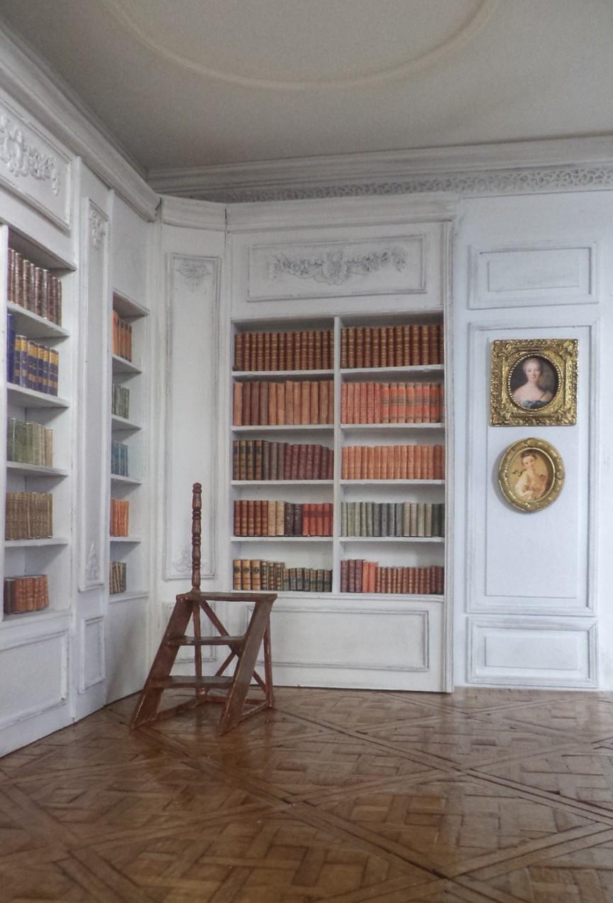 Maison fran aise 1 12 la biblioth que for Maison de la bibliotheque