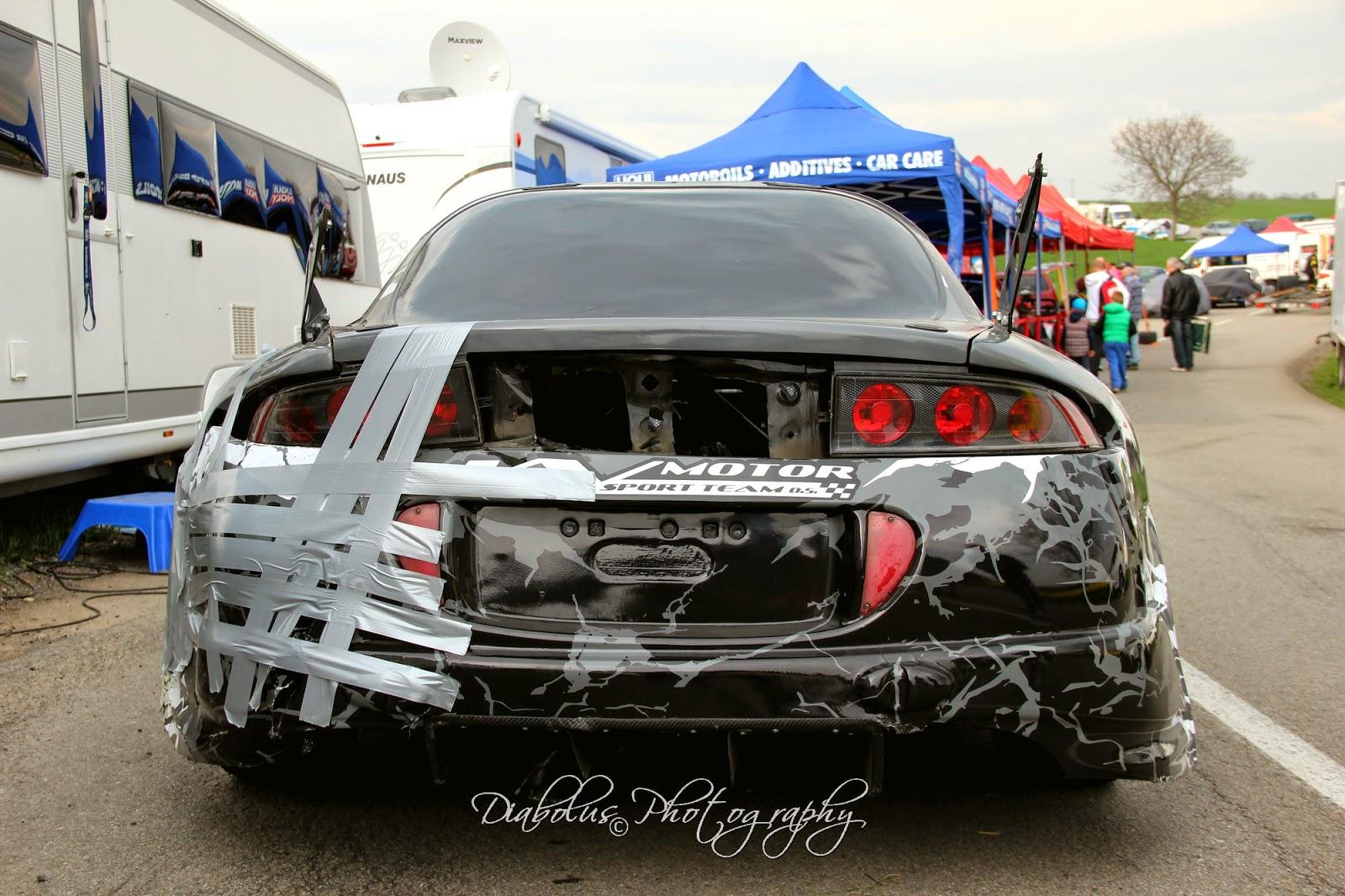 Bouraný Mitsubishi Eclipse