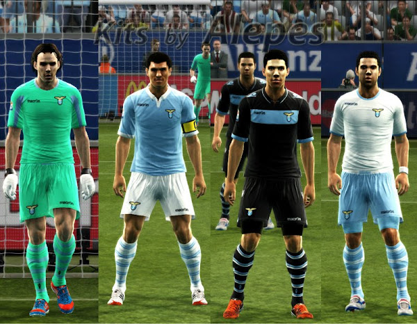 PES 2012 SS Lazio 2012/13 Kits by Alepes