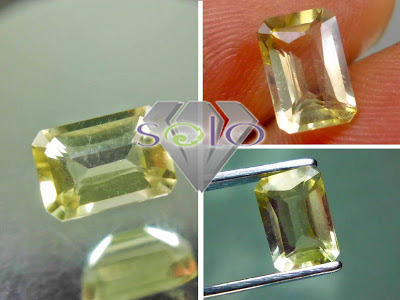Batu Permata Yellow Beryl Heliodor