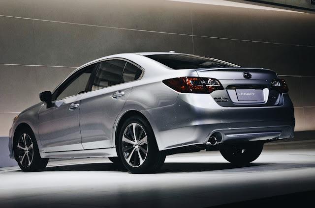 2016 Subaru Legacy Spy Shots