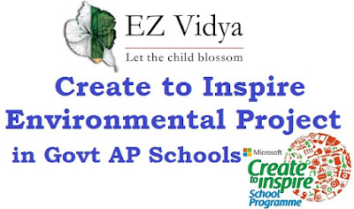 EZ Vidya, Microsoft,Create to Inspire Environmental Project