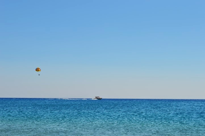 One random picture from the beaches of Rhodes.