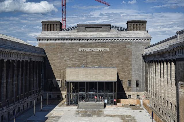 Baustelle Pergamon Museum, Am Kupfergraben, Bodestraße 1-3, 10178 Berlin, 23.06.2013