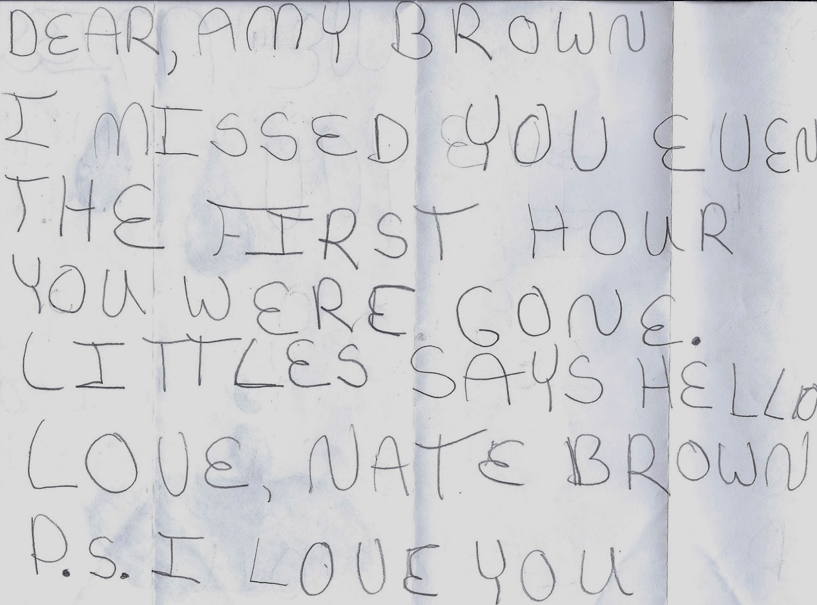a letter to my brother Finally, i did what i knew would at least dislodge my emotions i sat down and wrote my brother a letter.