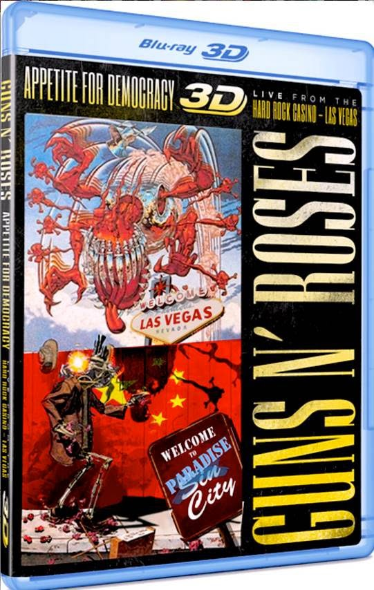 guns n' roses - Appetite For Democracy 3D: Live From The Hard Rock Casino - Las Vegas