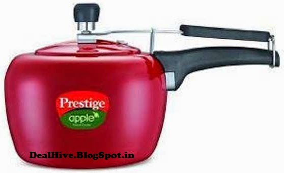 Prestige 3 Ltrss Apple Plus Red Pressure Cooker
