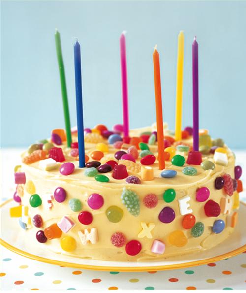 Tortas para chicos decoradas con golosinas imagui for Tortas decoradas faciles