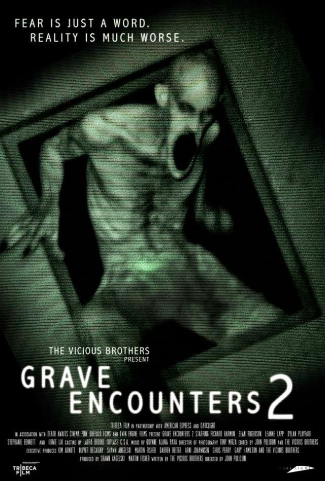 La película Grave Encounters 2 ( Encuentros paranormales 2 )