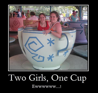 Funny 2 girls one cup LOL Photo
