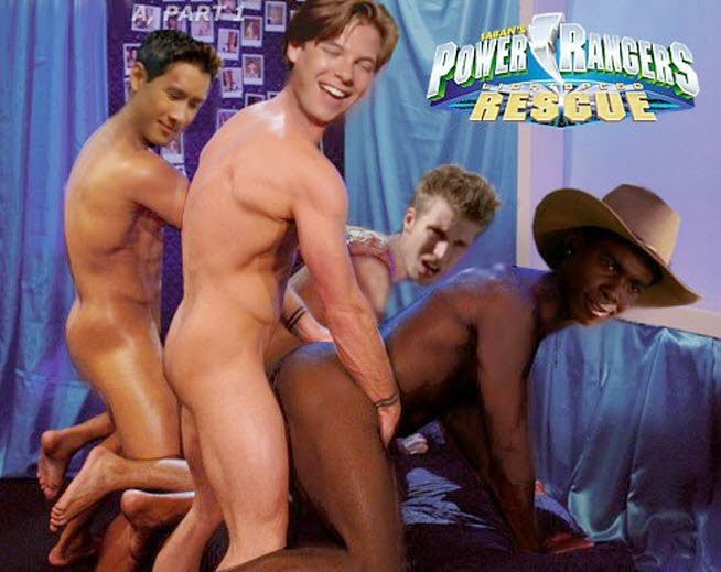 Power rangers gay porn