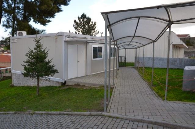 Sala de aulas do 1º Ciclo (contentor)