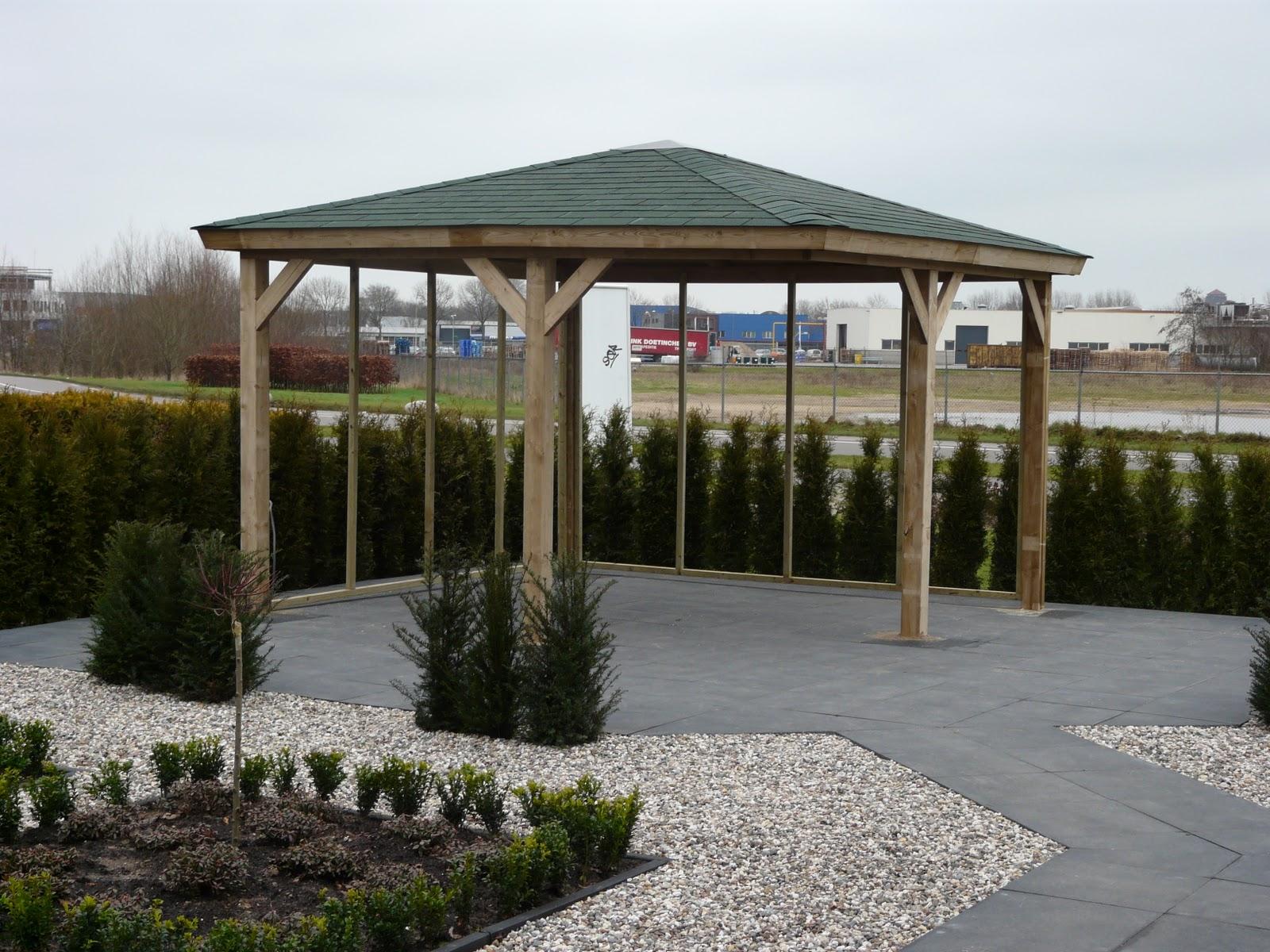 De tuinverbouwing januari 2012 - Prieel frame van ...