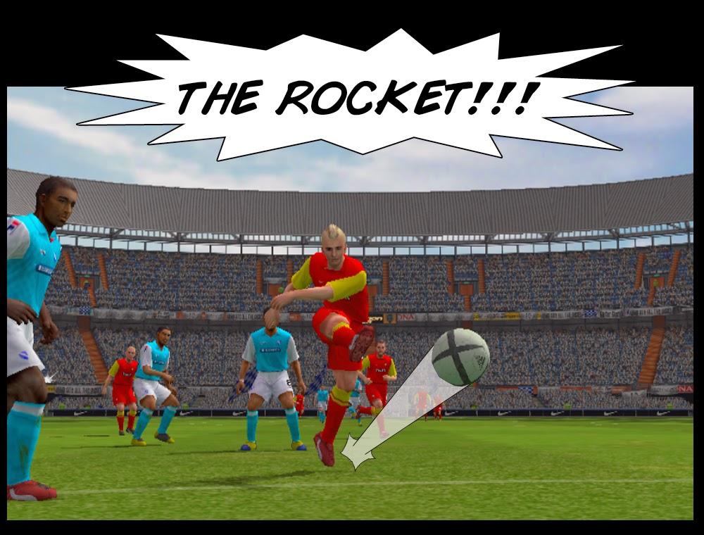 Richie's Rocket - Melchester Rovers v Portdean 2013/14