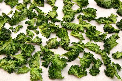 Ohrovtov cips - kale chips