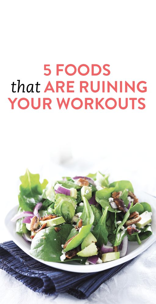 Foods that are Ruining Your Workouts