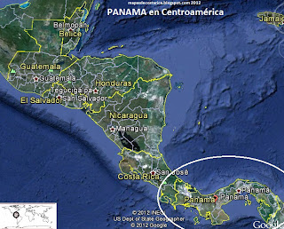 PANAMA GOOGLE EARTH  2012