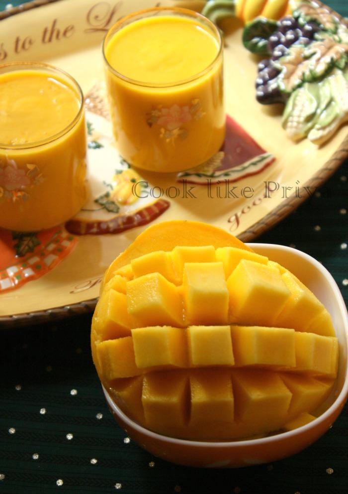 Cook like Priya: Mango Lassi | Summer Drinks | Mango based recipes