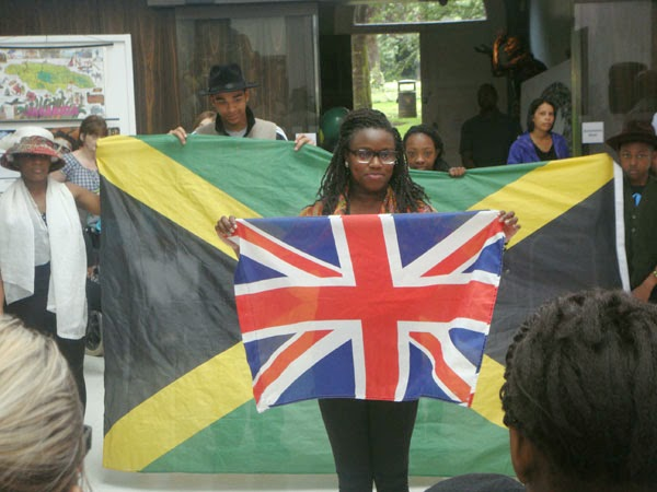 Jamaican Independence Day celebrations. Photo taken from the WAVE: Galleries,  Museums, Archives of Wolverhampton Flickr page. CC BY-NC-SA 2.0