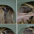 Bubble Fishtail Hairstyle Tutorial