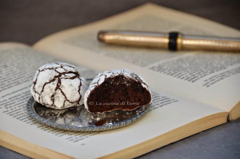 Biscotti Da Credenza Alice : La cucina di esme: chocolate crinkles cookies senza burro