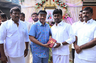 Kadhai Thiraikkadhai Vasanam Iyakkam Tamil Movie Pooja Photos Stills