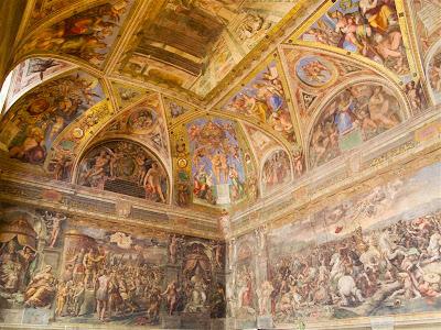 Sala de Constatino de los Museos Vaticanos