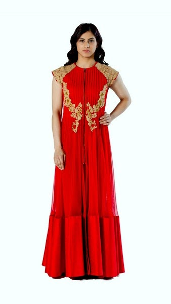 Indian Designer Ridhi Mehra Anarkali Dresses