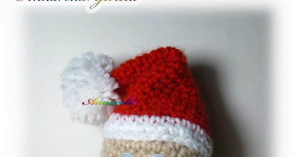 Tutorial Amigurumi Babbo Natale Uncinetto : Annarella Gioielli: Babbo Natale alluncinetto Amigurumi