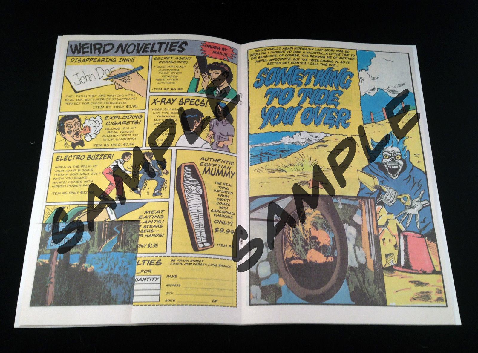 The Horrors of Halloween: Rare Custom Made CREEPSHOW (1982) Comic Book