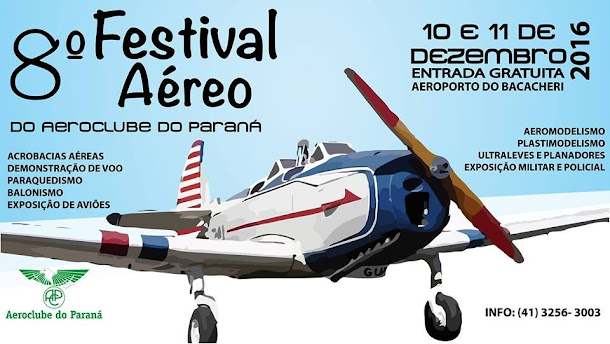 8º FESTIVAL AÉREO - 2016