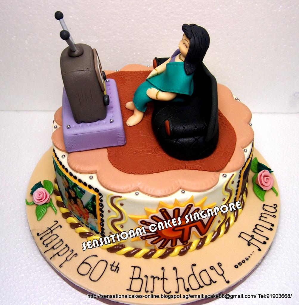 The Sensational Cakes Special Customized Cake For Grandma