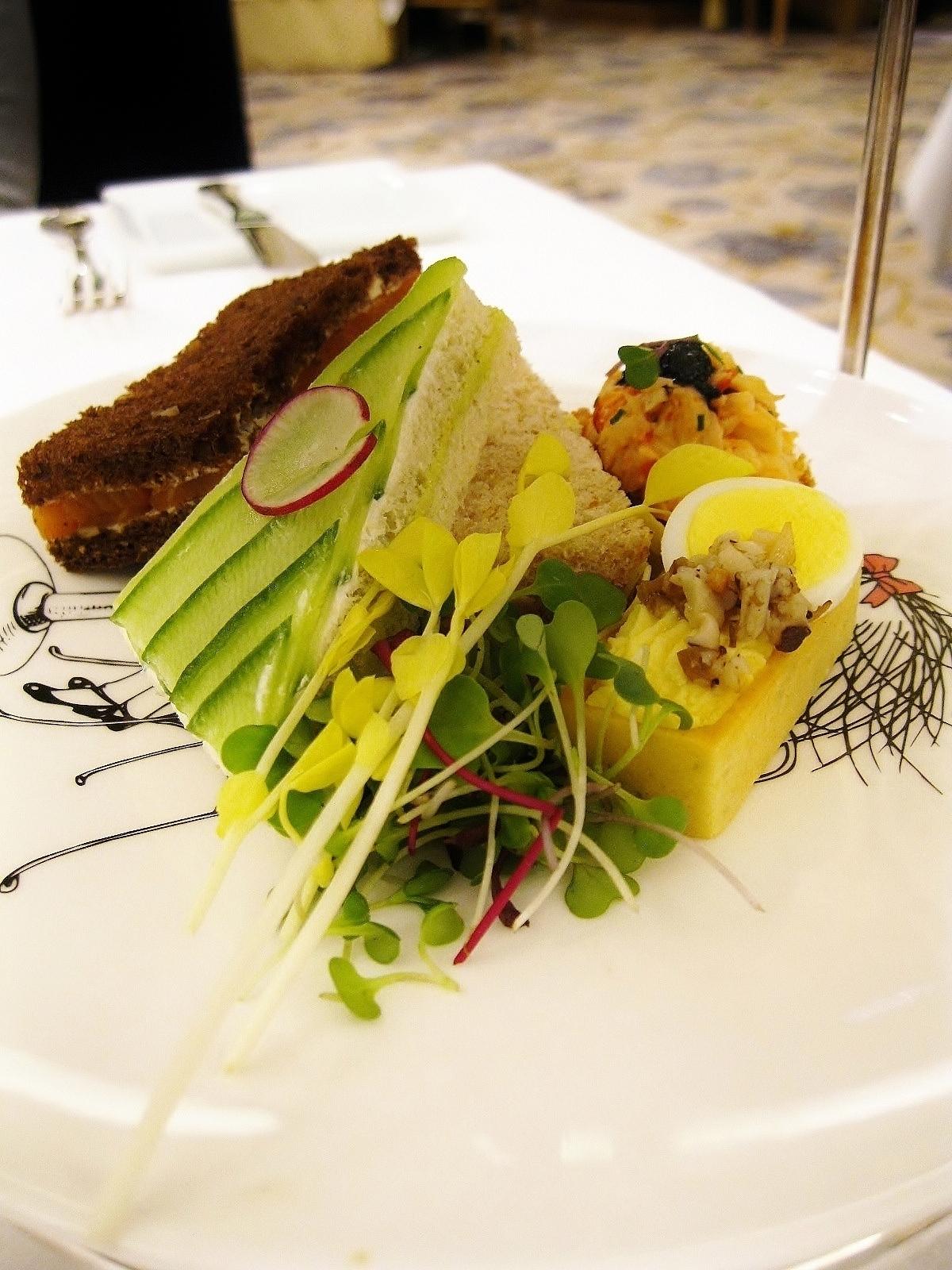 Smoked Salmon And Endive Tea Sandwiches Recipes — Dishmaps
