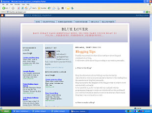 Contoh Templet Blog Yang Baik
