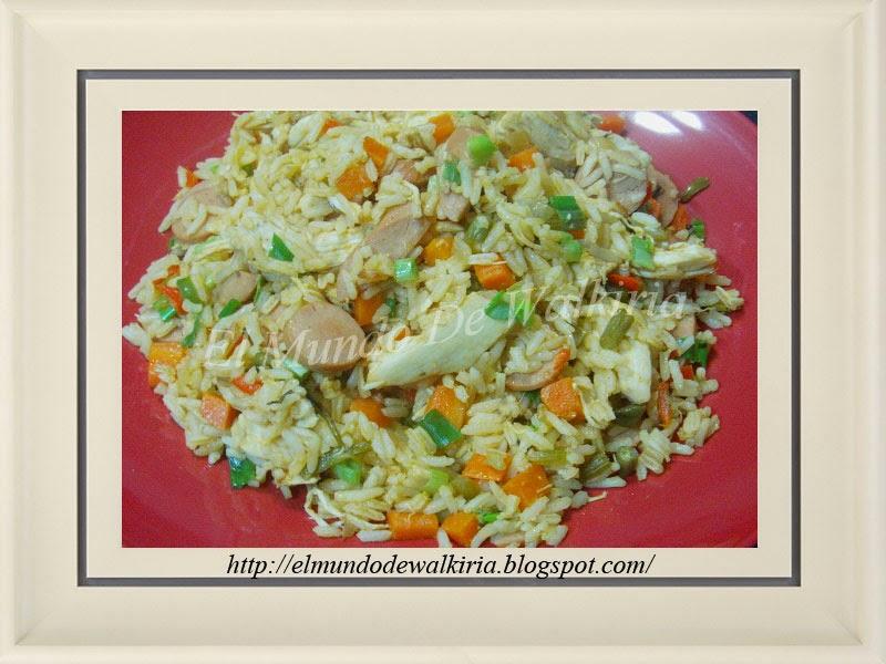 ... para navidad en nicaragua es el famoso arroz con pollo a la valenciana