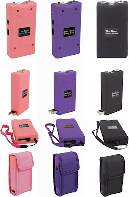 Give a Runt Stun Gun Purple 10 Million Volts as a unique holiday gift, for women or men!